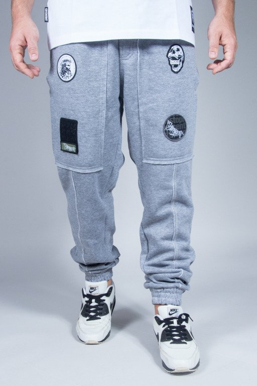 STOPROCENT SWEATPANTS JOGGER RAW MELANGE