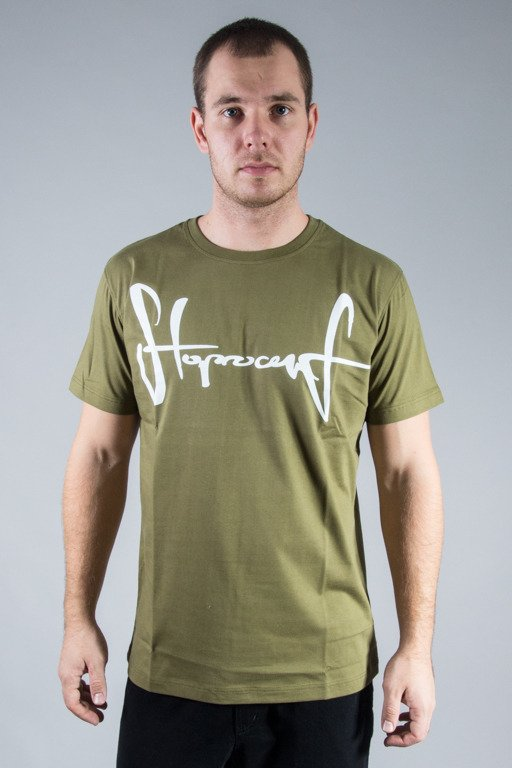 STOPROCENT T-SHIRT TAG16 KHAKI