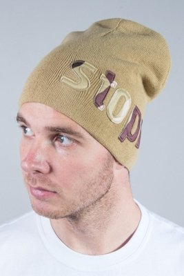 STOPROCENT WINTER CAP CAMOLETTER BEIGE