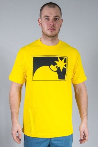 THE HUNDREDS KOSZULKA FOREVER HALF BOMB YELLOW