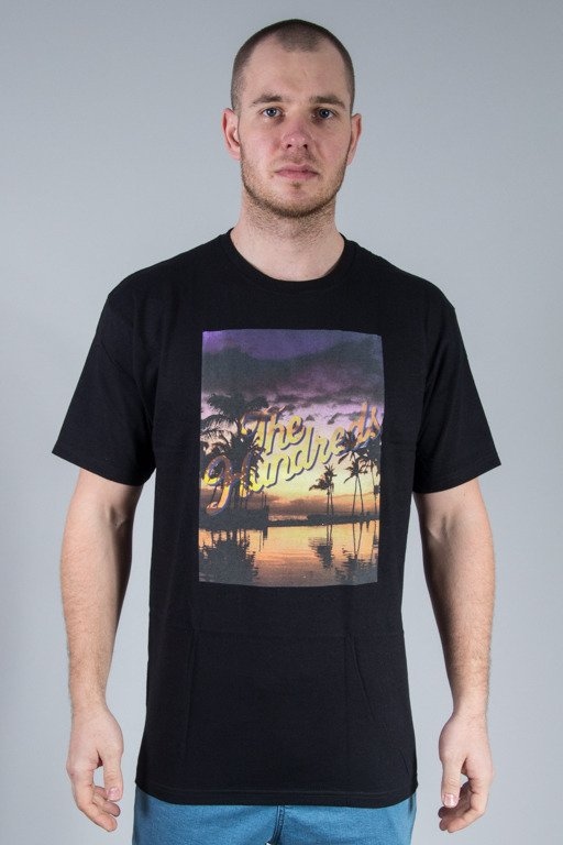 THE HUNDREDS KOSZULKA RELAX SLANT BLACK