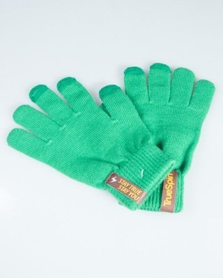 TRUESPIN GLOVES TOUCH GREEN