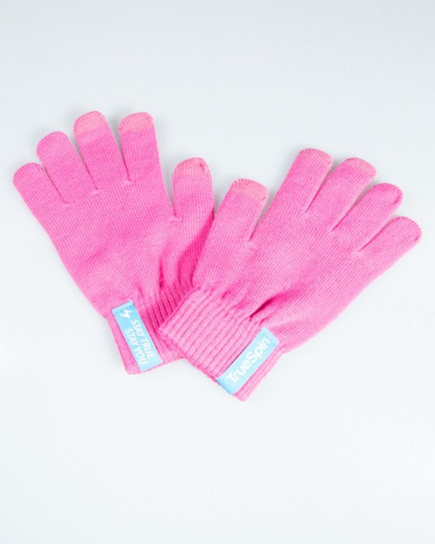 TRUESPIN GLOVES TOUCH PINK