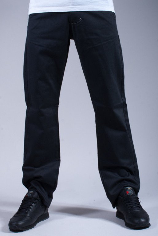 TURBOKOLOR SPODNIE CHINOS REGULAR FIT GRAPHITE