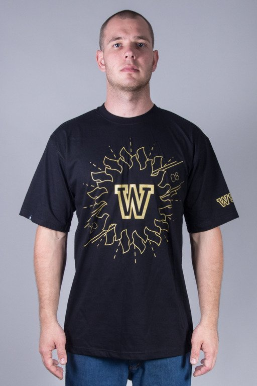 WSRH T-SHIRT AZTEC BLACK-GOLD