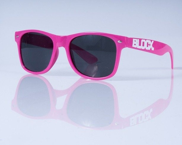 BLOCX OKULARY CLASSIC PINK