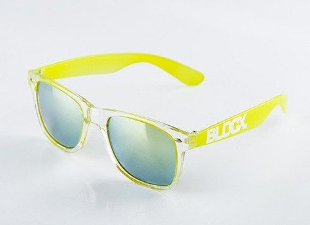 BLOCX OKULARY CLEAR X TOXIC YELLOW X COL