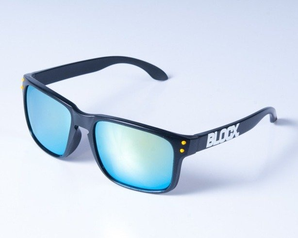 BLOCX OKULARY FREESTYLE BLACK-YELLOW COL