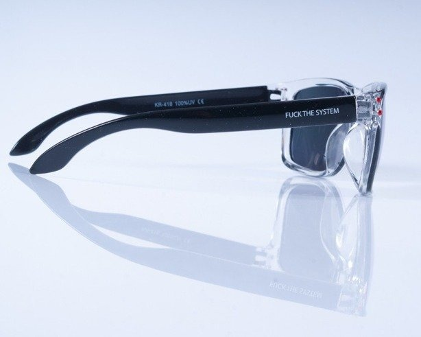 BLOCX OKULARY FREESTYLE CLEAR X BLACK