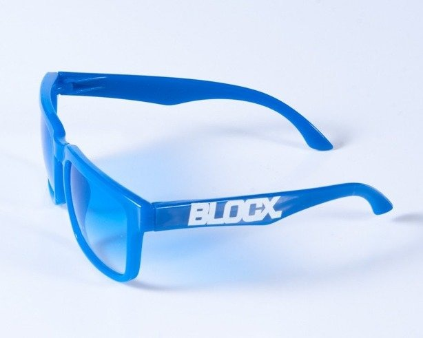 BLOCX OKULARY SQUARE BLUE LIGHT COL