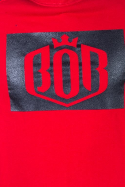 BOR CREWNECK RED85 RED