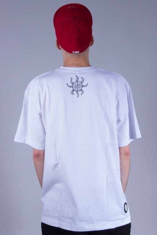 BRAIN DEAD FAMILIA KOSZULKA OCCULT WHITE-BLUE