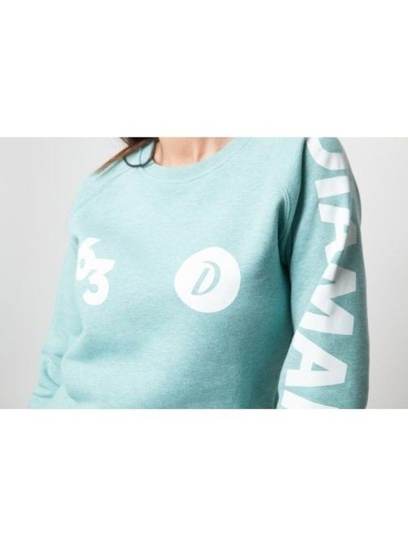 DIAMANTE CHICKS BLUZA 63 CREWNECK MINT