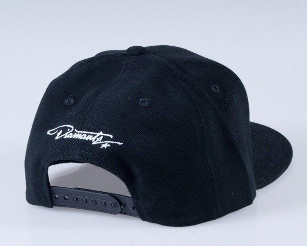 DIAMANTE WEAR CZAPKA SNAPBACK  FUCK HASHTAG BLACK
