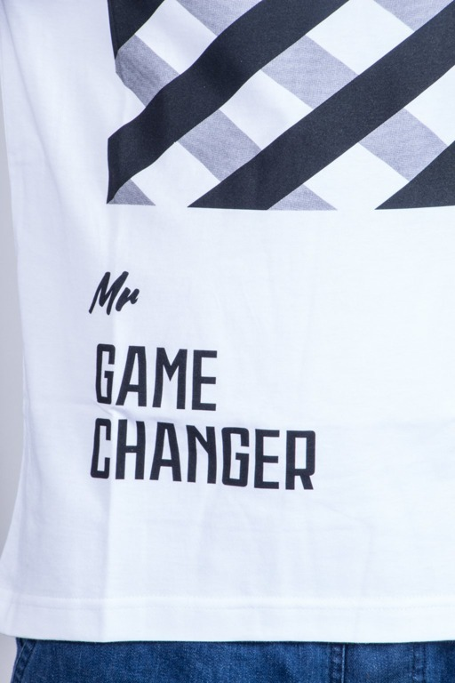 DIAMANTE WEAR KOSZULKA MR. GAME CHANGER WHITE