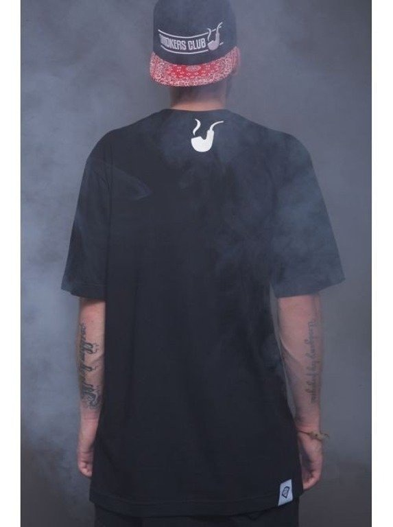 DIAMANTE WEAR KOSZULKA SMOKERS CLUB BLACK