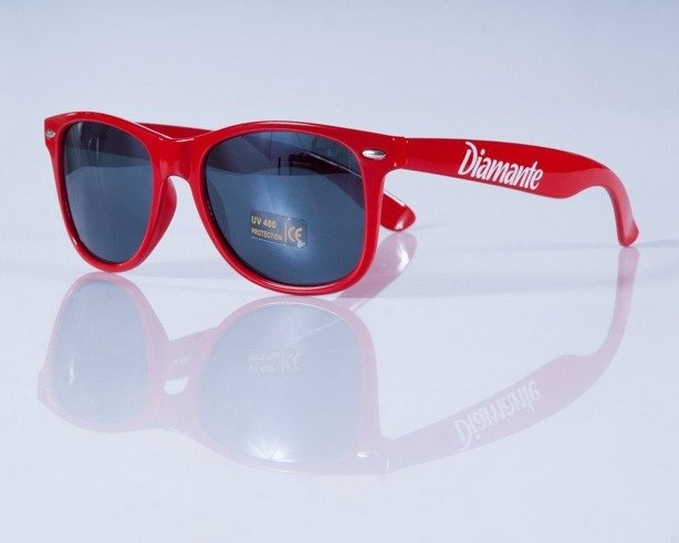 DIAMANTE WEAR OKULARY CLASSIC RED