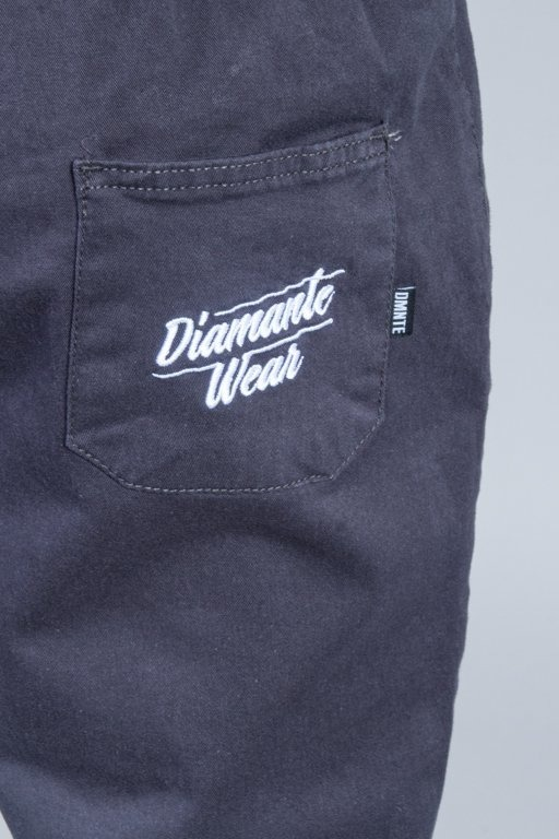 DIAMANTE WEAR PANTS CHINO JOGGER CLASSIC GRAFIT