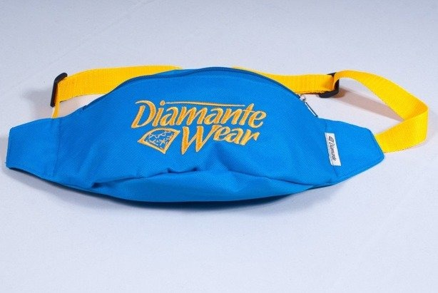 DIAMANTE WEAR SASZETKA NERKA BIG LOGO BLUE-YELLOW