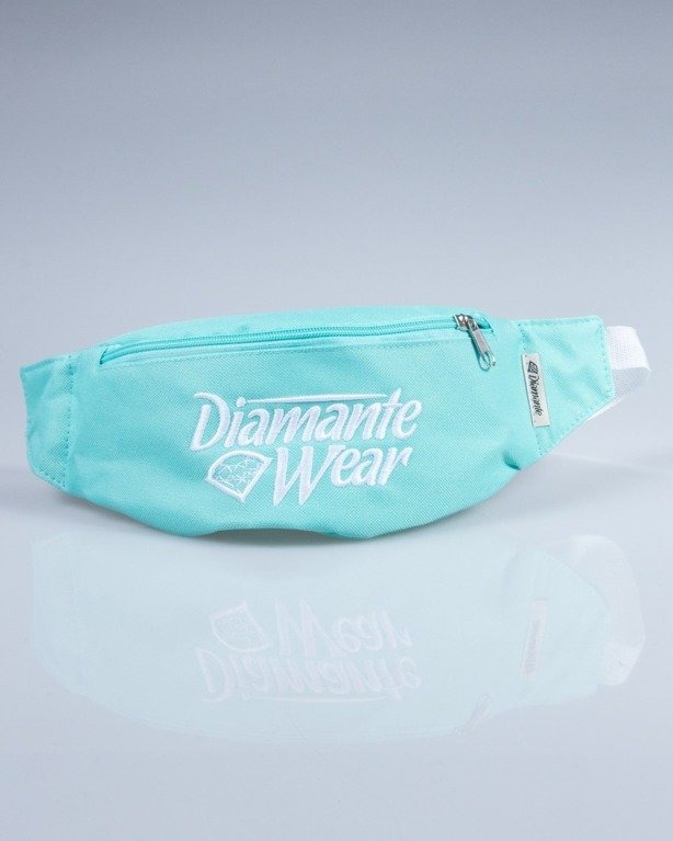 DIAMANTE WEAR SASZETKA NERKA BIG MINT-WHITE