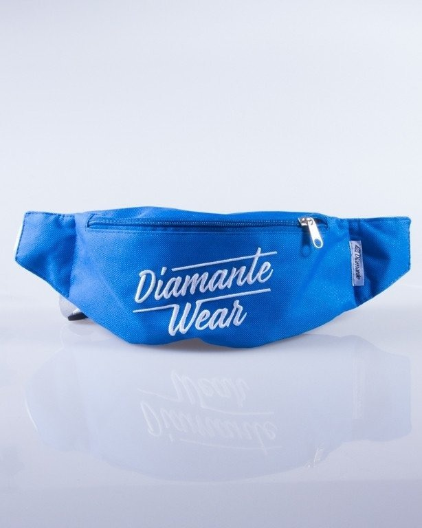 DIAMANTE WEAR SASZETKA NERKA DIAMANTE LOGO BIG BLUE