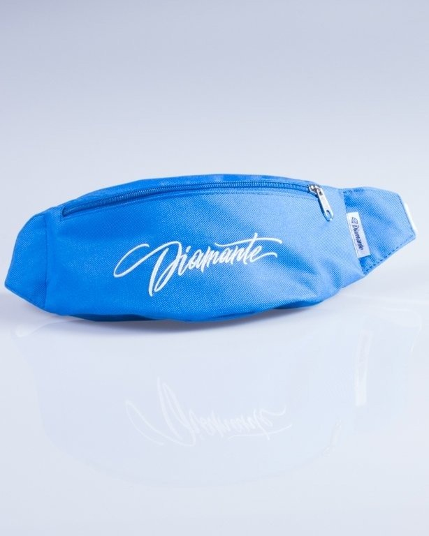 DIAMANTE WEAR SASZETKA NERKA DIAMANTE TAG BLUE-WHITE