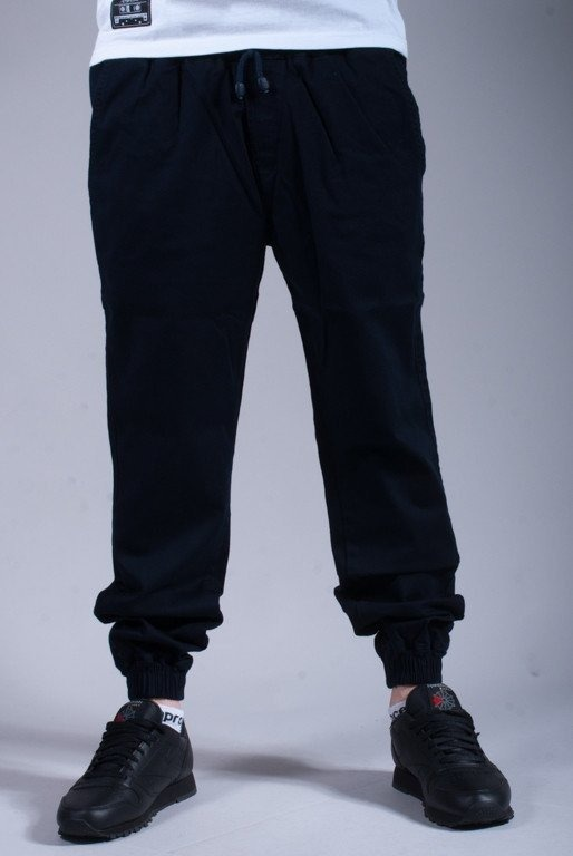 DIAMANTE WEAR SPODNIE JOGGER CLASSIC NAVY