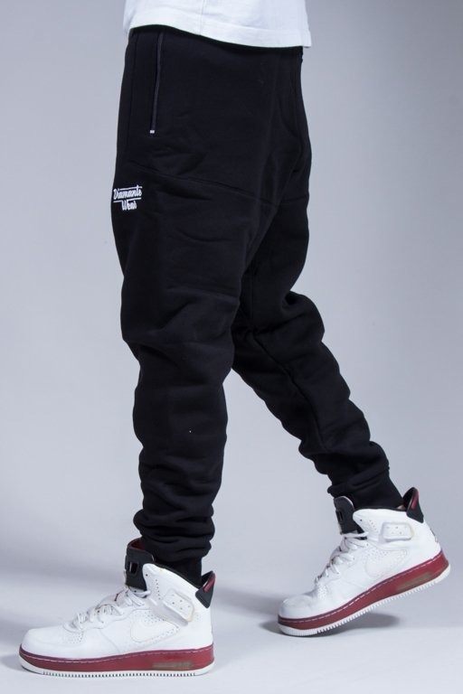 DIAMANTE WEAR SWEATPANTS HIPSTER 2 BLACK