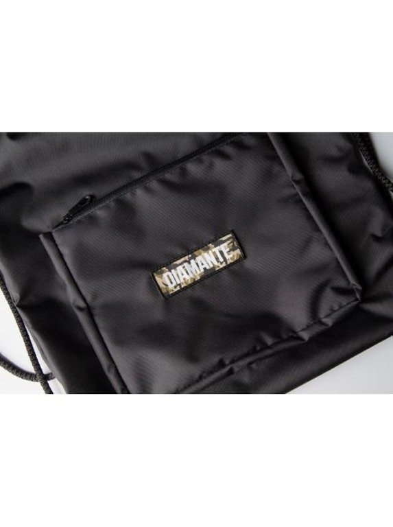 DIAMANTE WEAR WOREK GYMSACK BLACK-CAMO