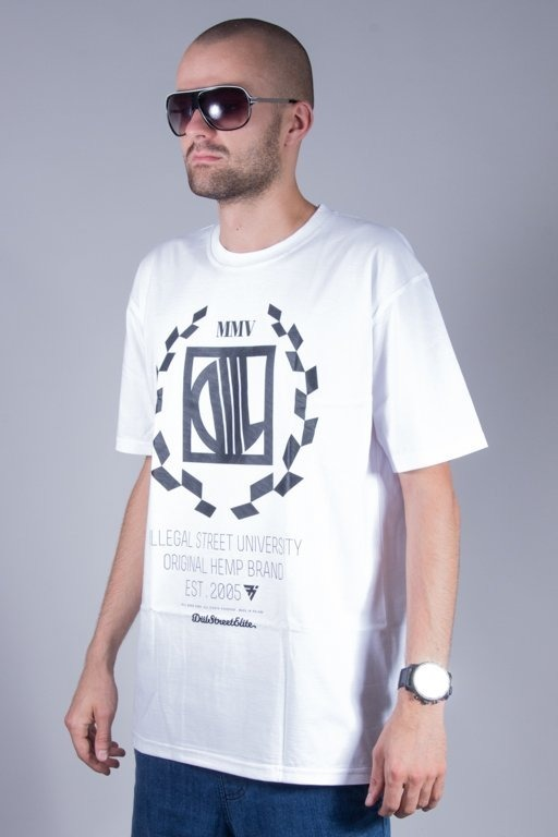DIIL T-SHIRT HARVARD NEW WHITE