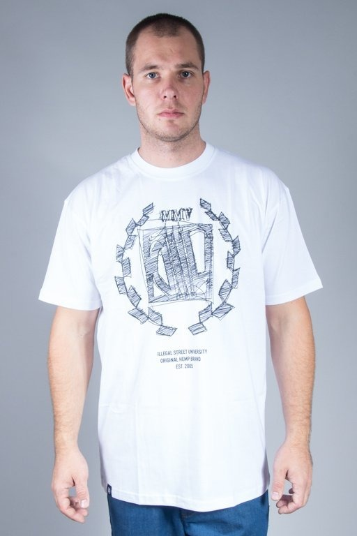 DIIL T-SHIRT SKETCH WHITE