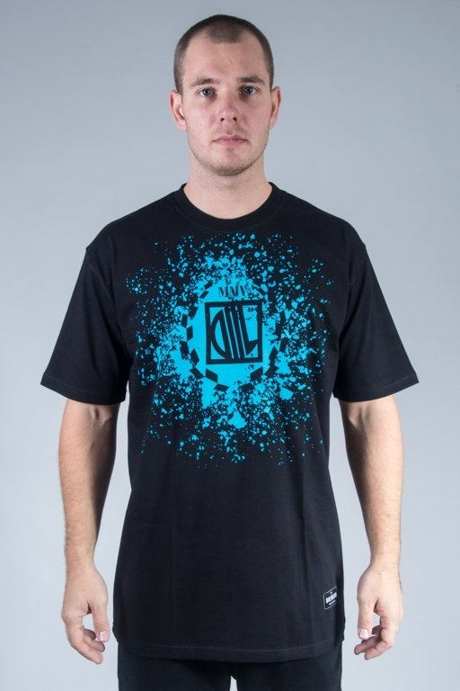 DIIL T-SHIRT SPLASH BLACK
