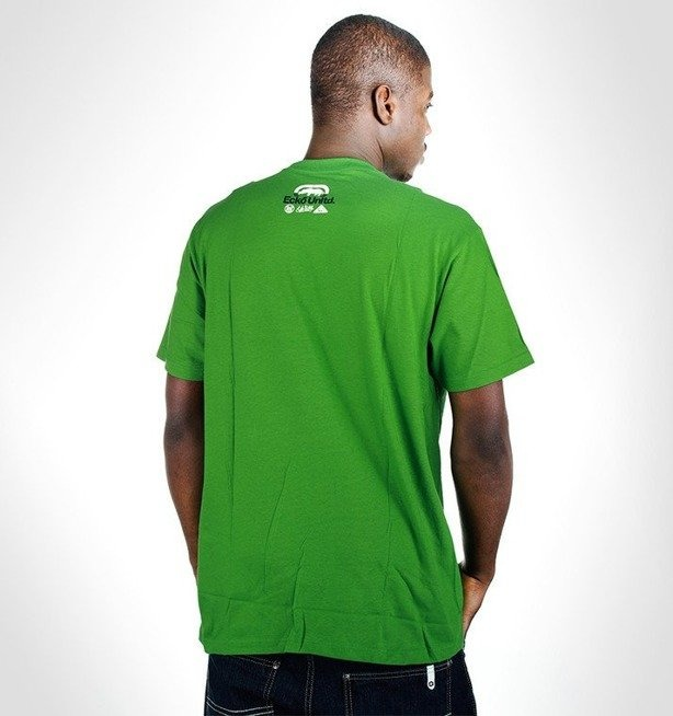 ECKO KOSZULKA COMBER TOP CORE GREEN
