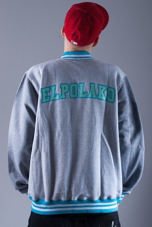 EL POLAKO BLUZA BEZ KAPTURA BASE LION GREY