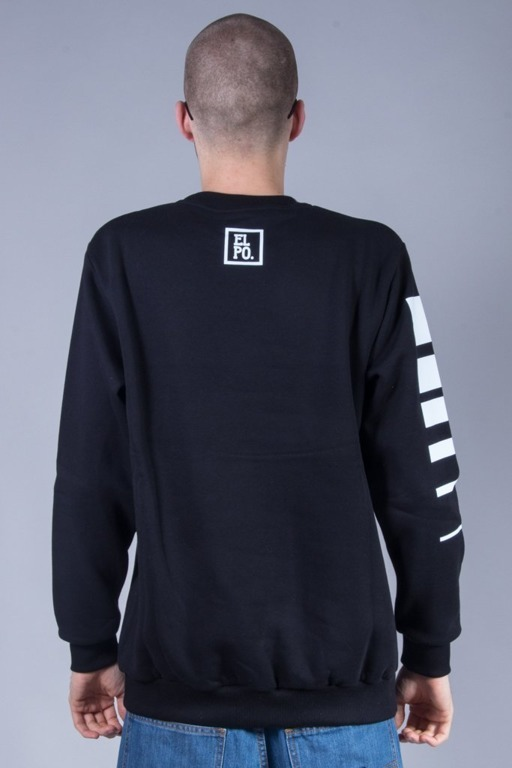 EL POLAKO CREWNECK GIRL BLACK
