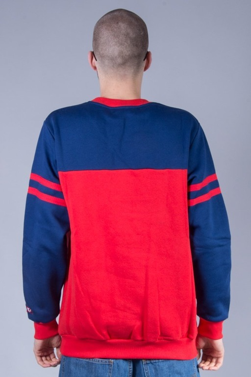 EL POLAKO CREWNECK STRIPES RED