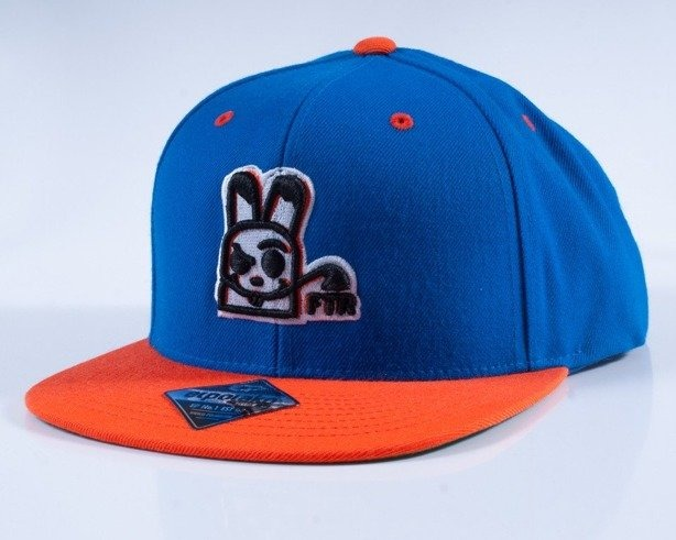 EL POLAKO CZAPKA SNAPBACK FOLLOW BLUE-ORANGE