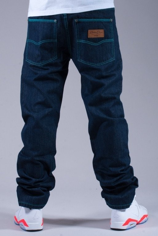 EL POLAKO DPODNIE JEANS EAGLE DARK BLUE