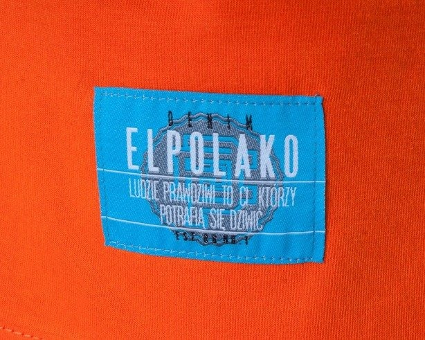 EL POLAKO KOSZULKA KEEP CALM ORANGE