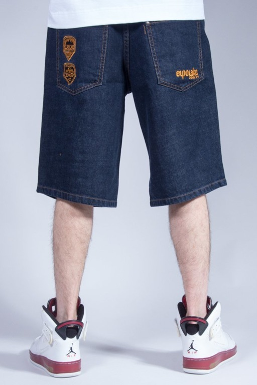 EL POLAKO SHORTS JEANS EXPEDITION DARK