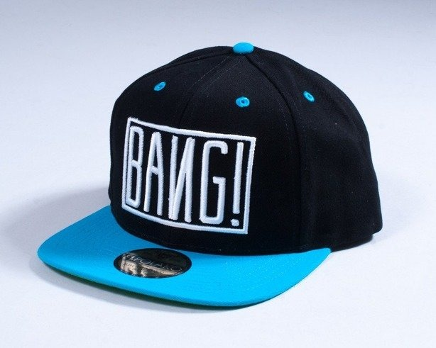 EL POLAKO SNAPBACK BANG BLACK-BLUE