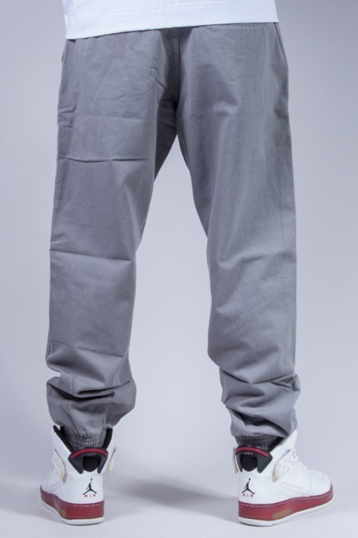 EL POLAKO SPODNIE CHINO JOGGER ELPK LIGHT GREY
