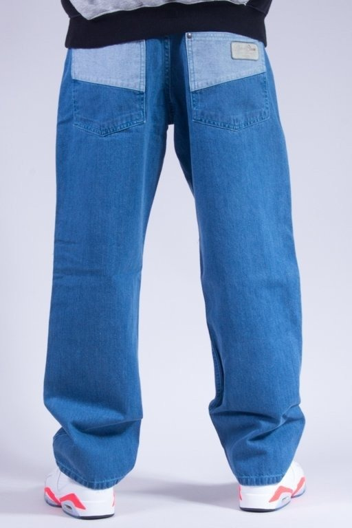 EL POLAKO SPODNIE JEANS 2 COLOR LIGHT