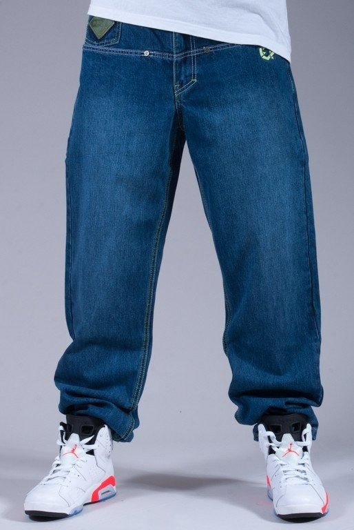 EL POLAKO SPODNIE JEANS HALF SLIM TOUCAN LIGHT BLUE