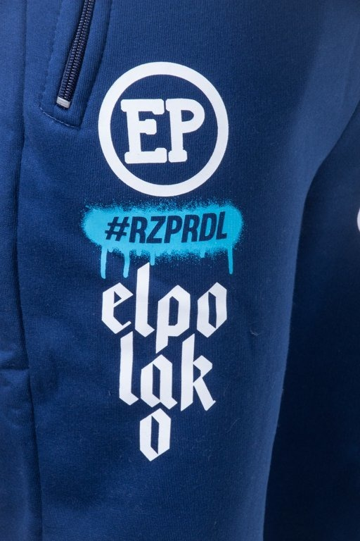 EL POLAKO SWEATPANTS BELOW NAVY