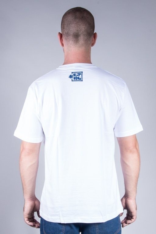 EL POLAKO T-SHIRT ŚWIAT WHITE