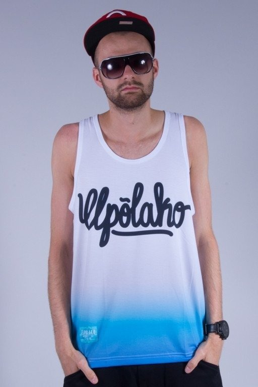 EL POLAKO TANK TOP 4COLORS WHITE