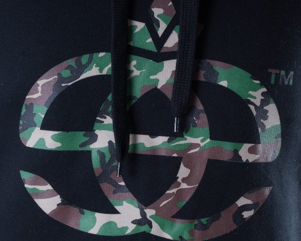 ELADE BLUZA Z KAPTUREM ICON CAMO BLACK