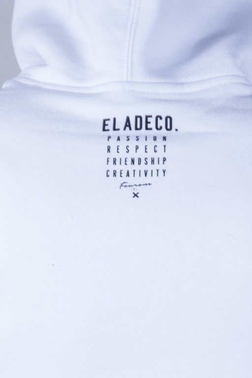 ELADE BLUZA Z KAPTUREM ICON WHITE