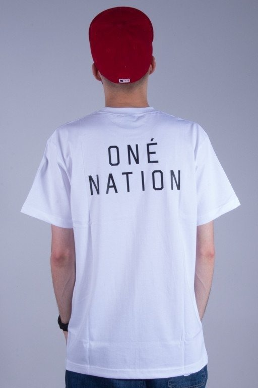 ELADE KOSZULKA ONE NATION WHITE-CAMO